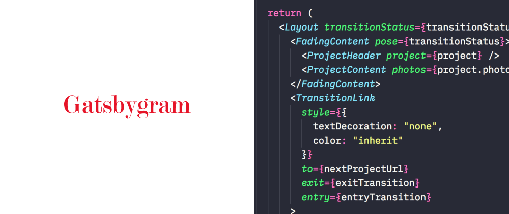 Cover image for Pentagram Page Transitions – A deep dive with Gatsby.js