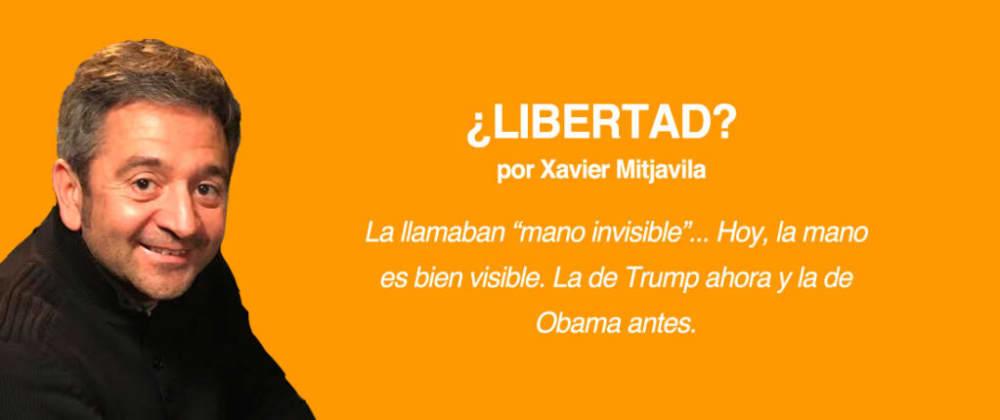 Cover image for ¿Libertad?, por Xavier Mitjavila