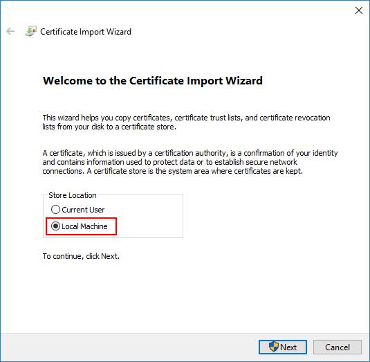 SSL Certificates in Development
