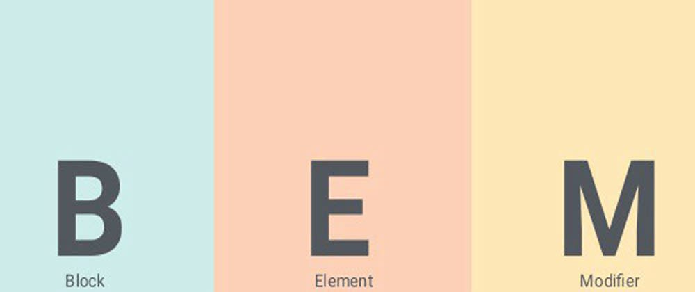 Cover image for Quick Read on Basics of BEM (Block,Element,Modifier)