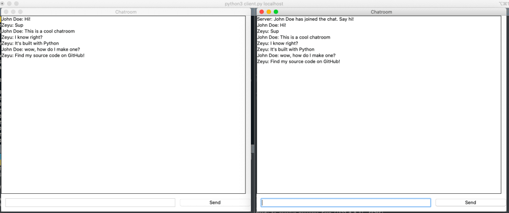 Cover image for Build a Chatroom App with Python