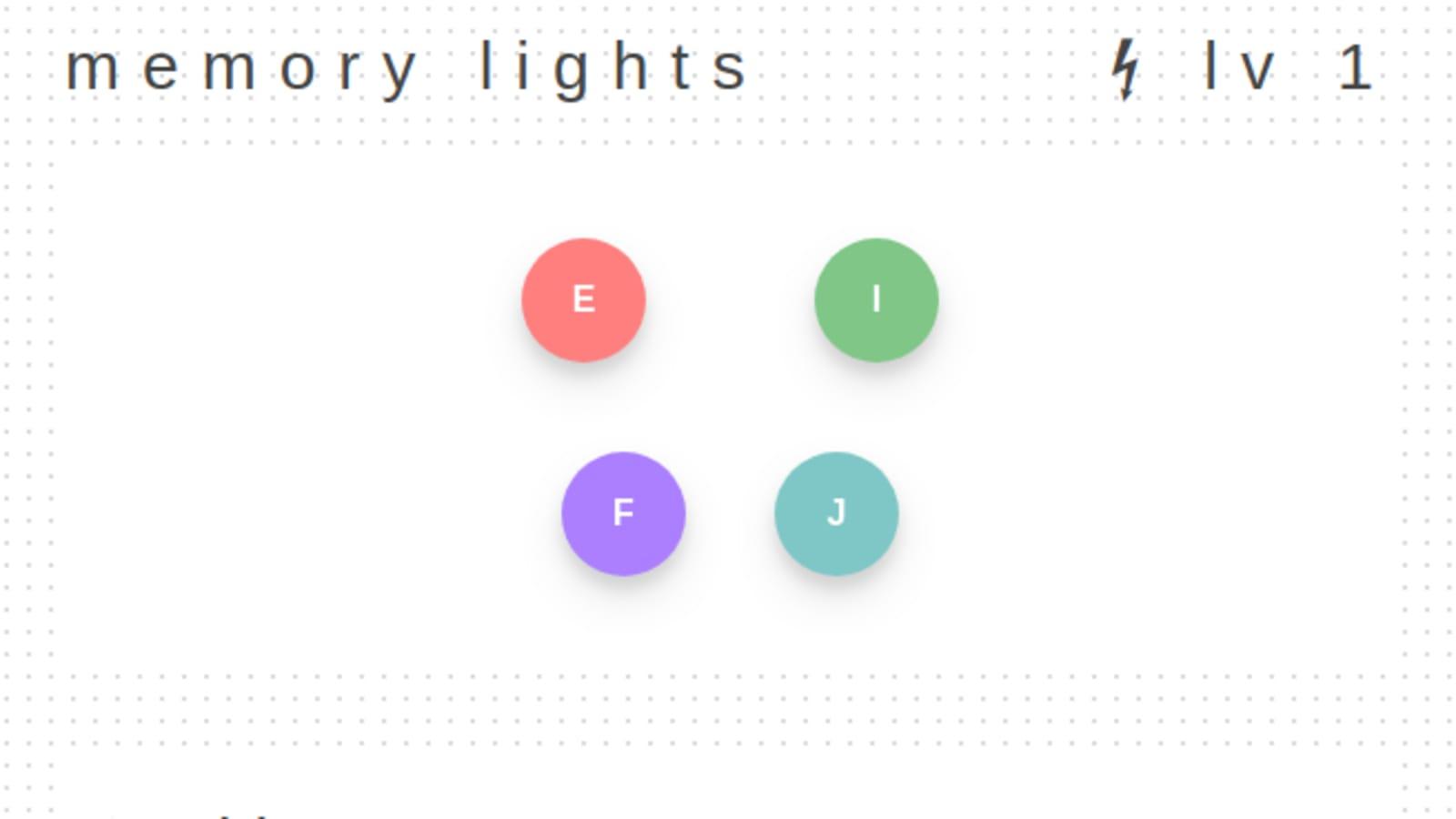 I Made A Simon Game Variation Using Vuejs Dev