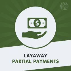 Layaway Magento 2 Partial Payment