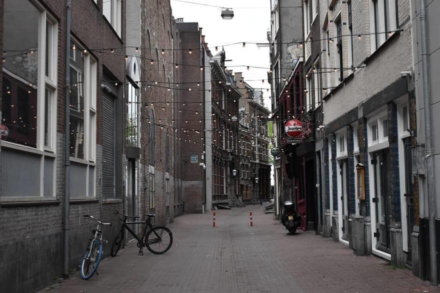 Amsterdam Center in COVID