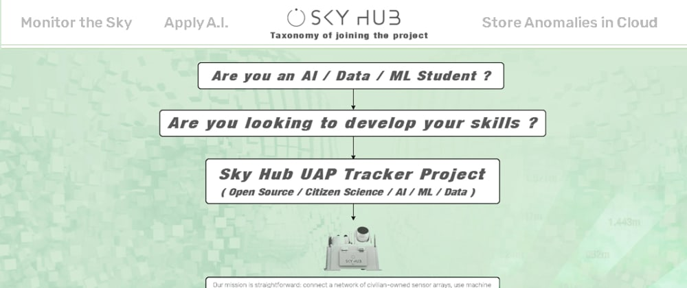 Cover image for AI ML Data students opportunity with Sky Hub