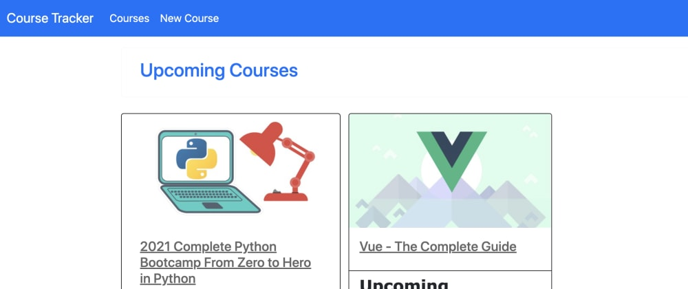 Cover image for Building Course Tracker Using Ruby On Rails
