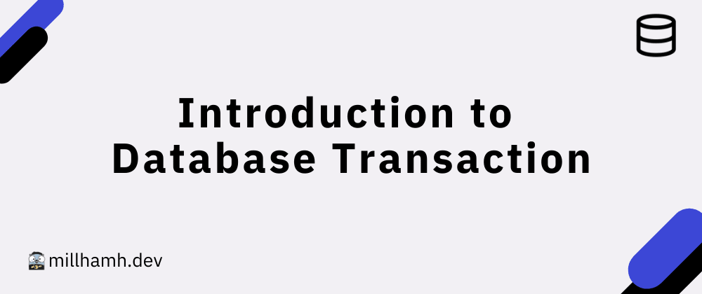 Cover image for Introduction to Database Transaction