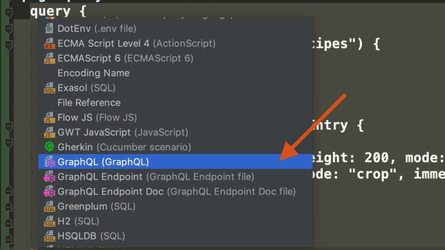 Graphql inject language graphql