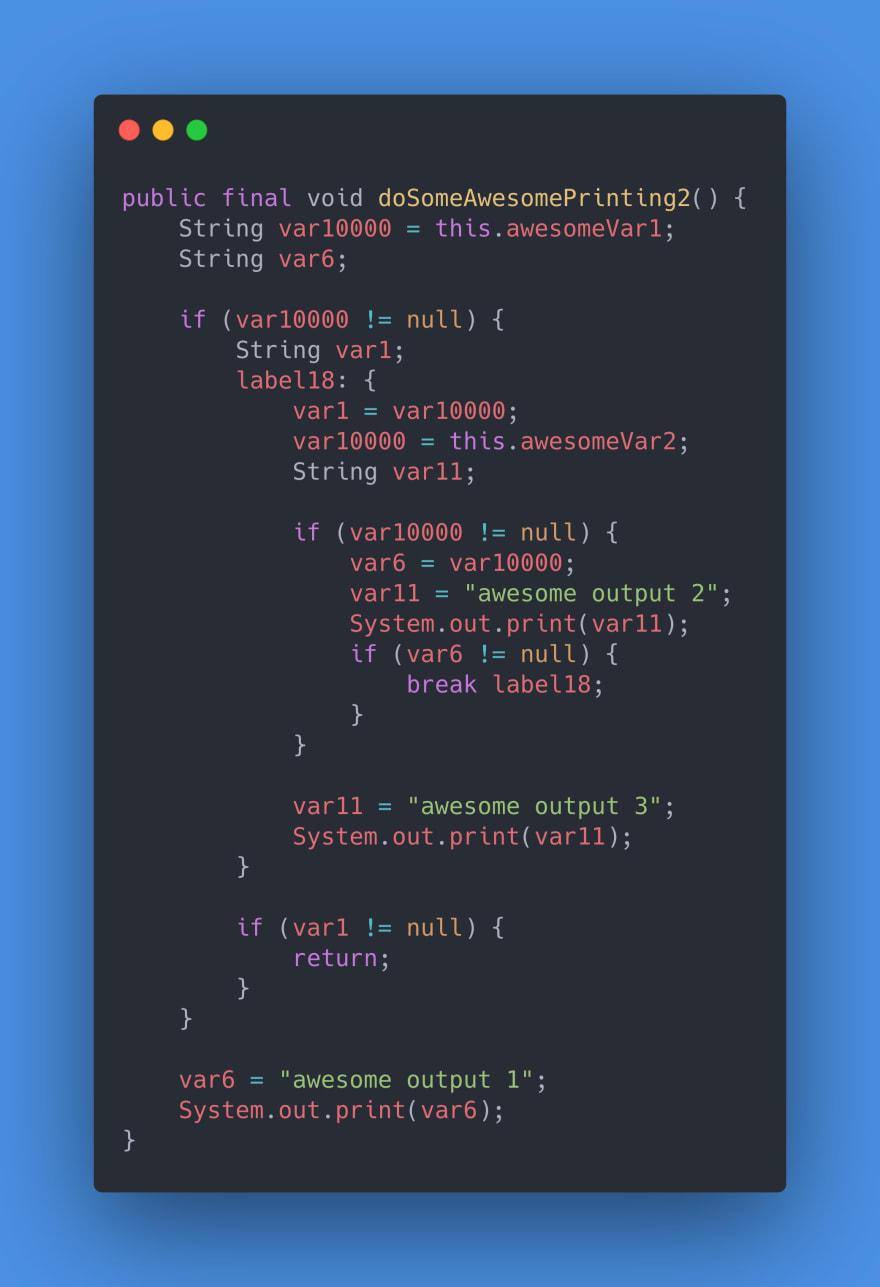 Example 4 - Java