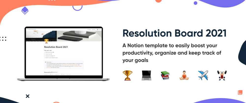 Cover Image for Give a kick-Start to New Year with this Free Notion Template 🚀🔥