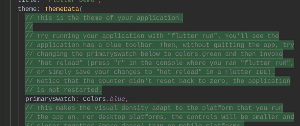 Cover image for Eliminar comentarios rápidamente en Android Studio o VS Code
