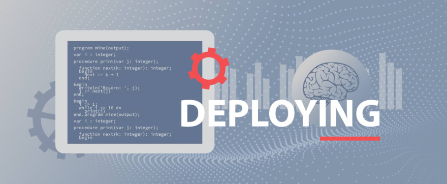 Data science projects - Deploying