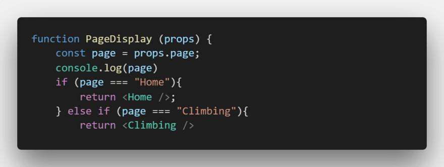 PageDisplay function