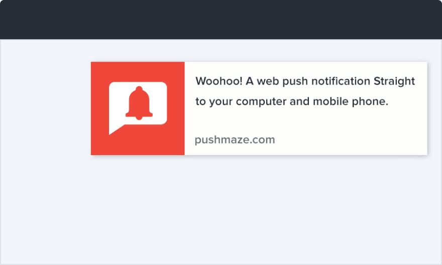 Receive Chrome Push Notification