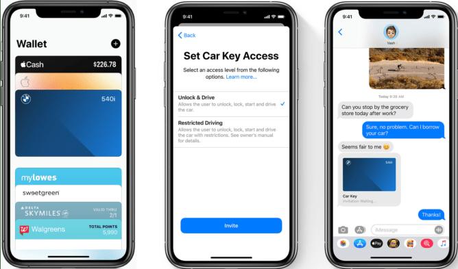 iOS 14 Car Key