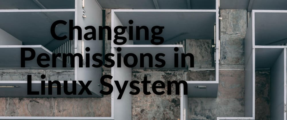 Cover image for Changing Permissions in Linux System