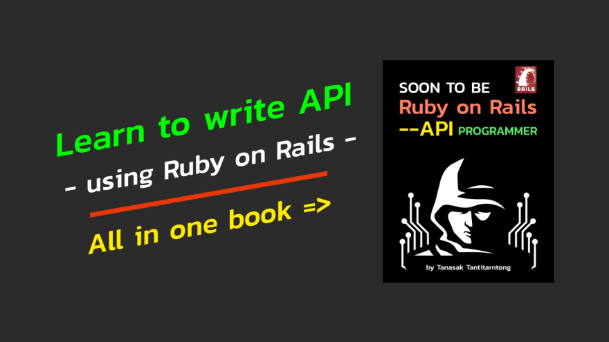 Soon to be Ruby on Rails --api Programmer