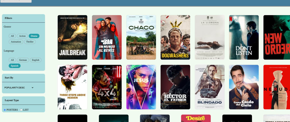 Cover image for Building a React Cine World - Movie Application using typescript