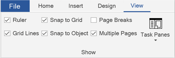 Select the Snap to Grid, and Snap to Objects Check Boxes