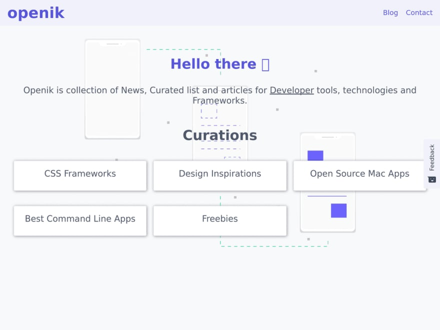openik.com curated list of developer tools