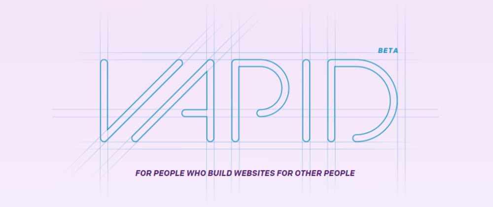 Cover image for Build a website with Vapid CMS