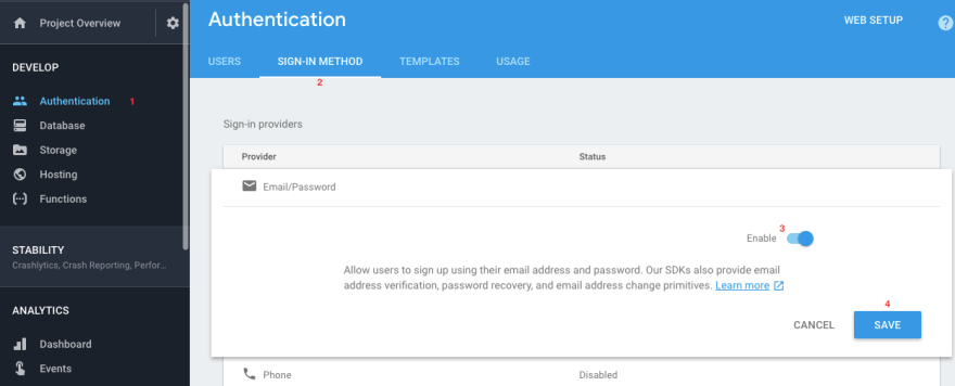 Introduction to Authentication with Firebase - DEV Community