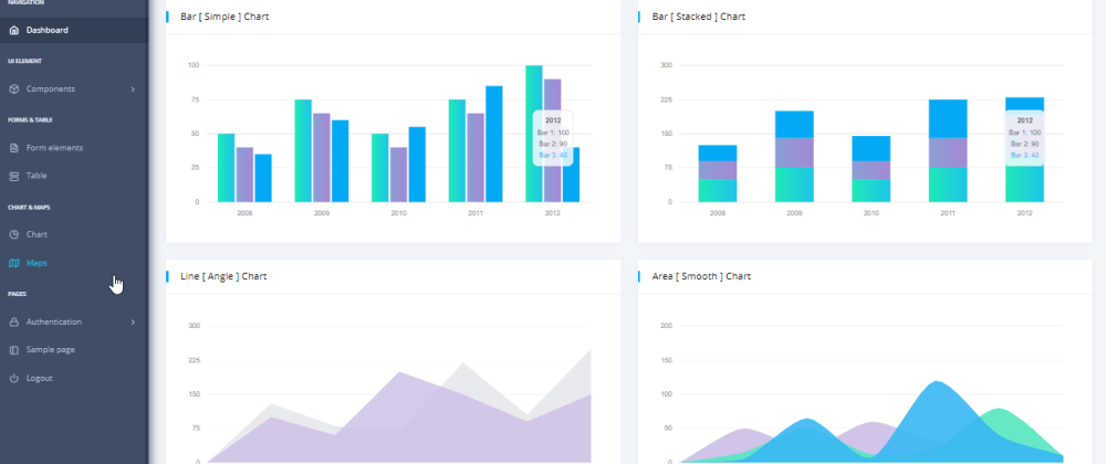 Cover image for Admin Dashboard DattaAble - Coded in two Python flavors