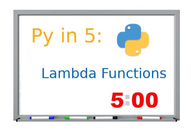 py in 5 lambdas