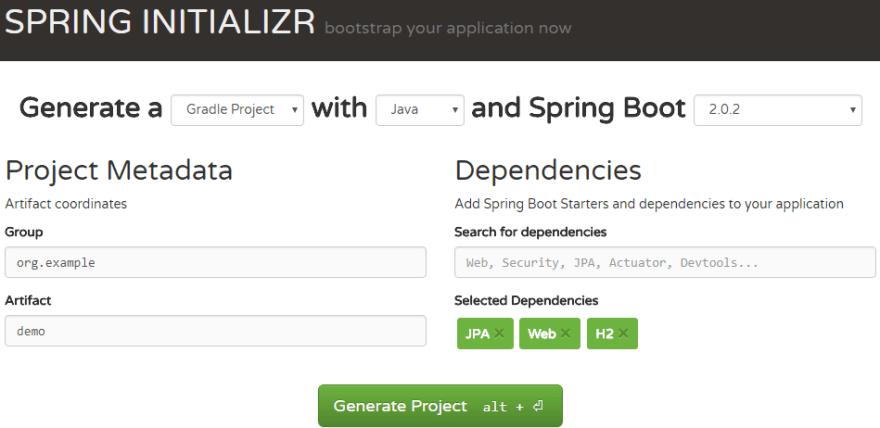 Java Enterprise 101: Building a REST Server with Spring Boot - DEV
