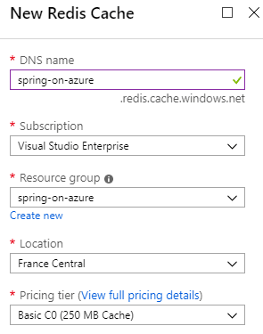 Configuring Azure Redis Cache to boost Spring Boot performance (7/7