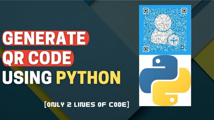 QR Code Gen Using Python