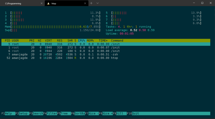 Windows Terminal in Action
