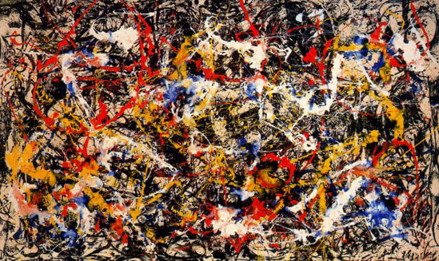 Convergence (1952) by Jackson Pollock