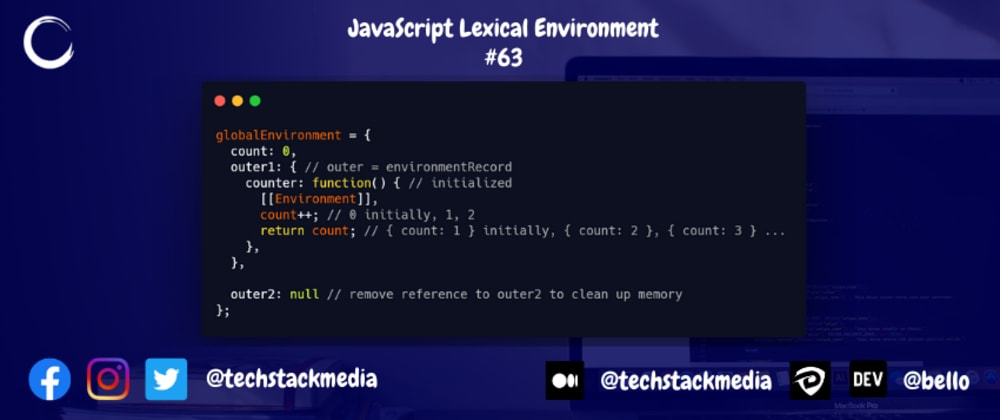 Cover image for JavaScript Lexical Environment