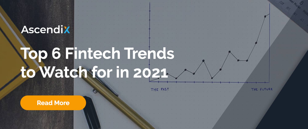 Cover image for Top 5 FinTech Trends That Will Dominate in 2021
