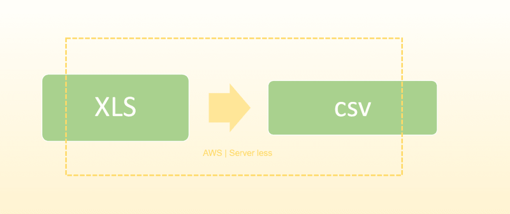 Cover image for XLS TO CSV Conversion