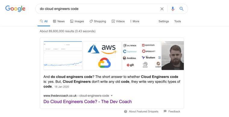 Post Ranking Number 1 On Google