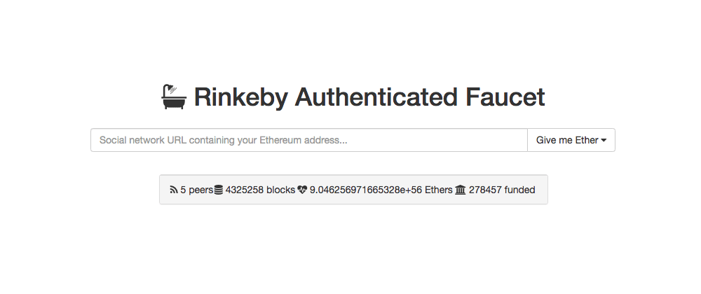 Cover image for Como obtener ETH de Rinkeby Testnet