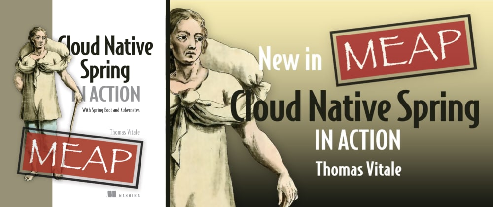 Cover image for New Book: Cloud Native Spring in Action - With Spring Boot and Kubernetes