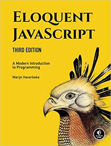 Eloquent JavaScript book cover