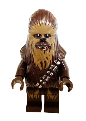 Chewbacca LEGO minifigure