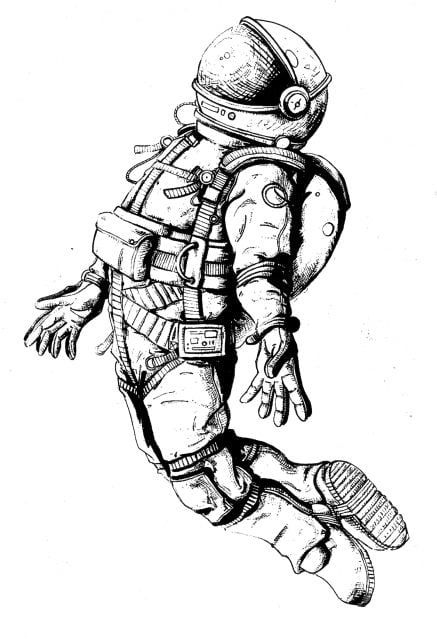 Image result for space man ¿draw