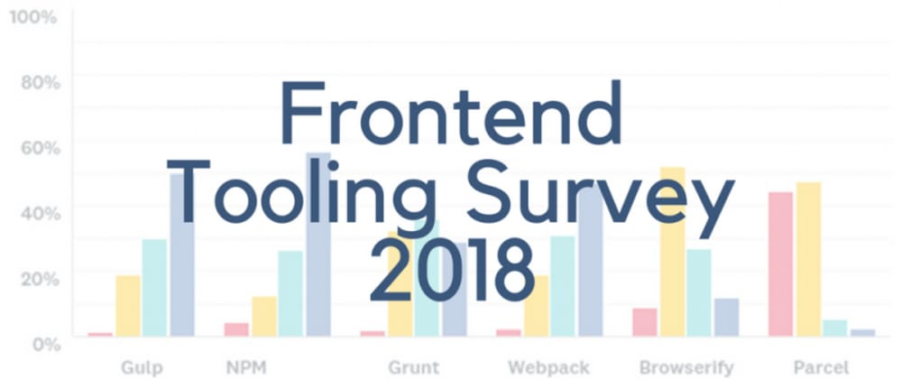 Highlights from Frontend Tooling Survey 2018