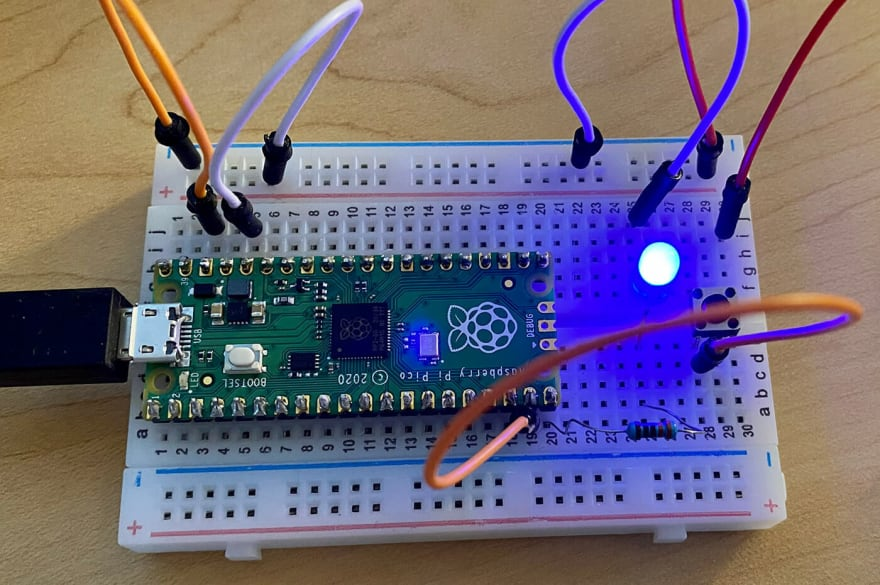 finished circuit