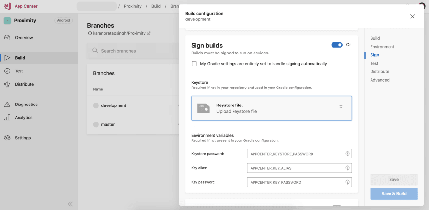 appcenter-build-signing-android