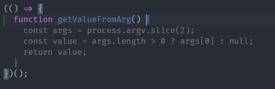 Get Values Function