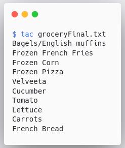 tac-command-output