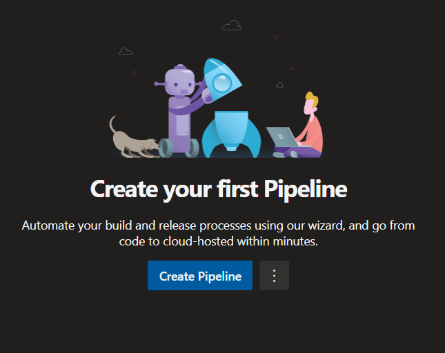 Create Pipeline Option