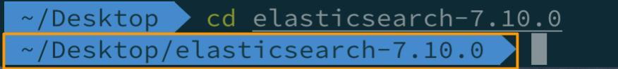 CD into elasticsearch
