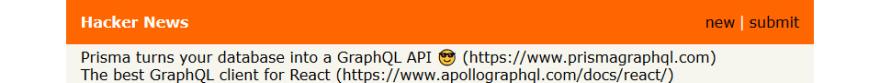 Hackernews Clone Page